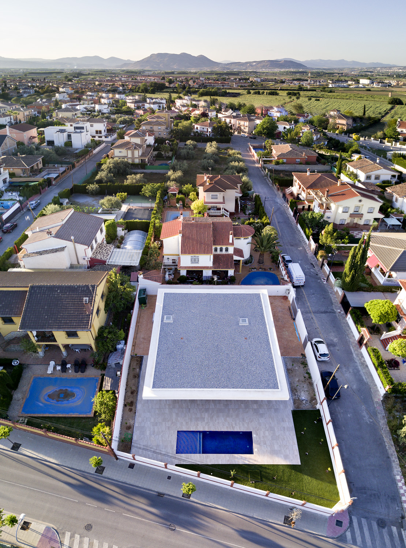 Vista aérea - La Casa de Jesús - Estudio de arquitectura RRR