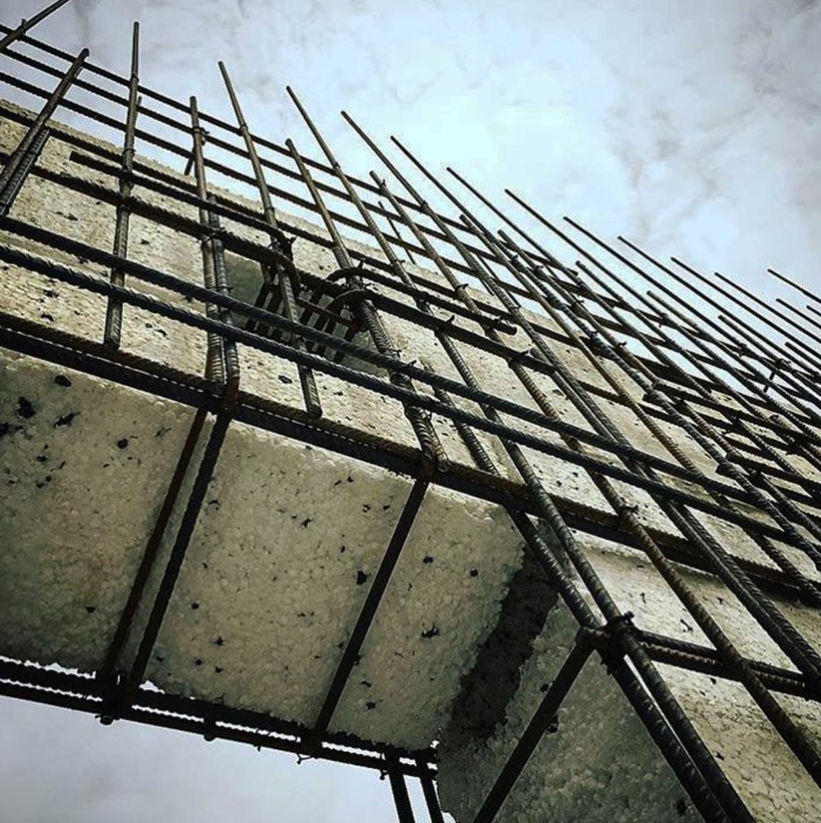 estructura - La Casa de Jesús - Estudio de arquitectura RRR